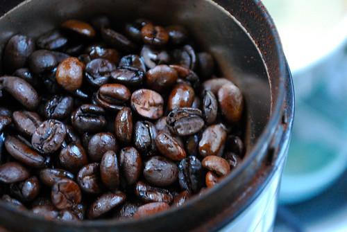 Boil Coffee Beans