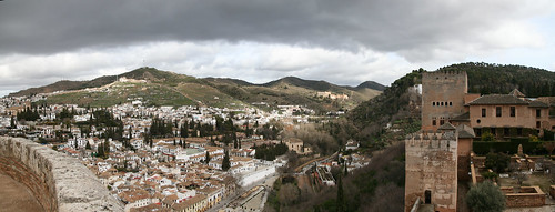 Albaycin and Sacromonte Panorama