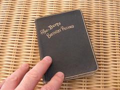Burns Birthday Book
