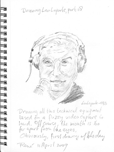 Drawing Leo Laporte, part 18