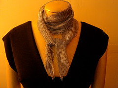 stainless steel scarf