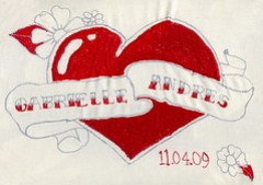 the official wedding logo