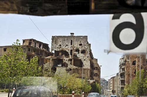 vestiges de guerre-Beirut Sud