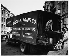 Moving Van, Brookline Moving Company and Mover...