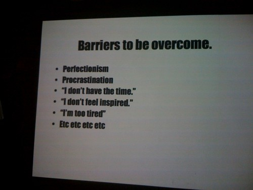 Barriers to overcome