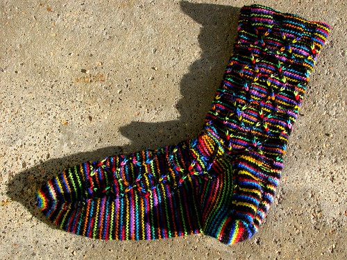 Finished sock