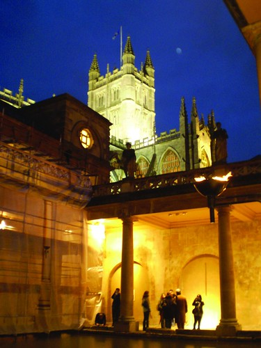 (Roman Baths) Photo by Erin Furman