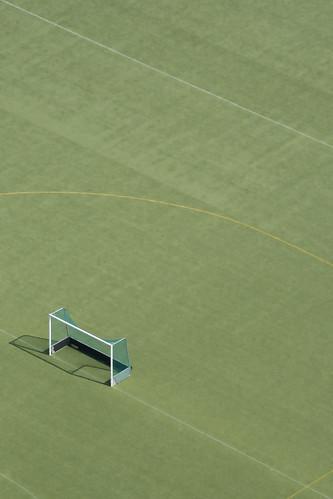 An open goal