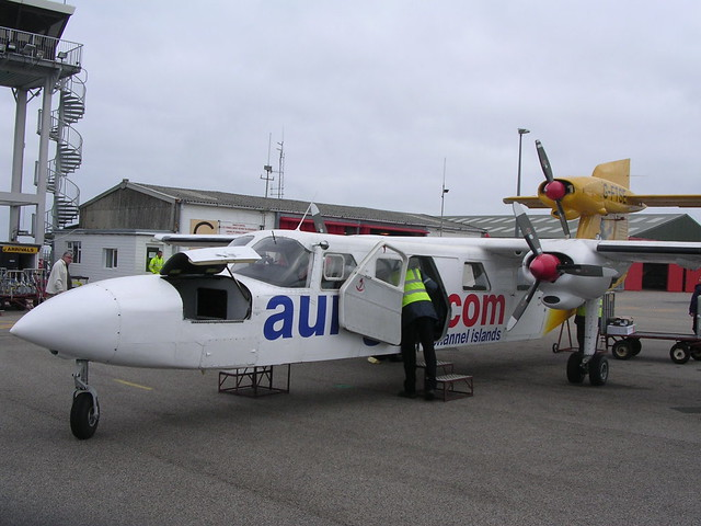 GFTSE TRISLANDER OF AURIGNY AT AT ALDERNEY MAY09