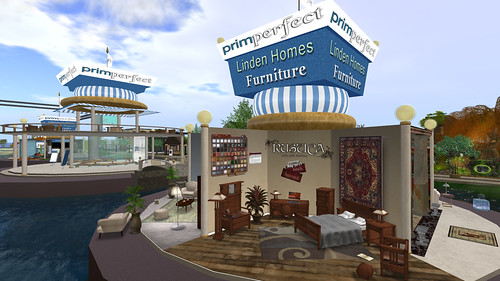 The Linden Home pavilion on the Prim Perfect area at the Home and Garden Expo: Photo by PJ Trenton