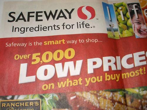 Safeway flyer