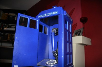 Phone Box, Dr. Who