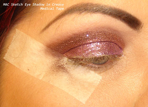 Medical Tape Eyeshadow, Glitter