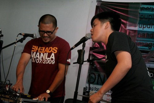 RA and Diego at One for the Roadie 2