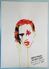 Marilyn Manson: Raw Meat Helmet