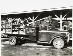 [Model T 18 #C G 26   At a Lumber Yard. R.E. B...