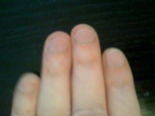 My long ring finger