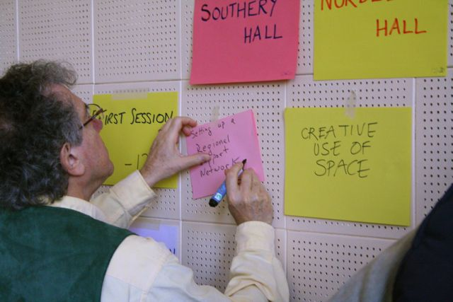 East Anglian Transition gathering March 2009 - Ideas and suggestions for the Open Space sessions