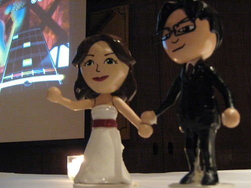 Wedding cake toppers by andorus.