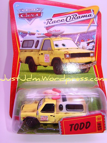 Disney CARS Pizza Planet Truck Todd (1)