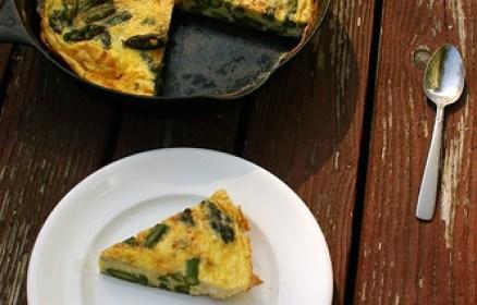 prosciutto-asparagus tortilla - Gluten Free Girl and the Chef