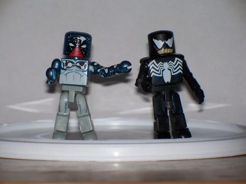 Cosmic Spider-Man and Venom