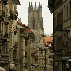 Rue de Lausanne und Kathedrale