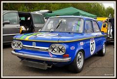 Classic car meet at Brands Hatch