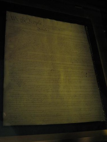 First page of the Constitution