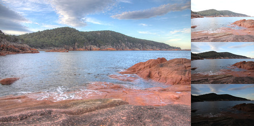 Sleepy Bay - Freycinet - Coles Bay (HDR Example)