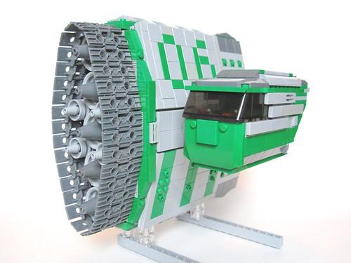 LEGO tortoise speeder jason corlett