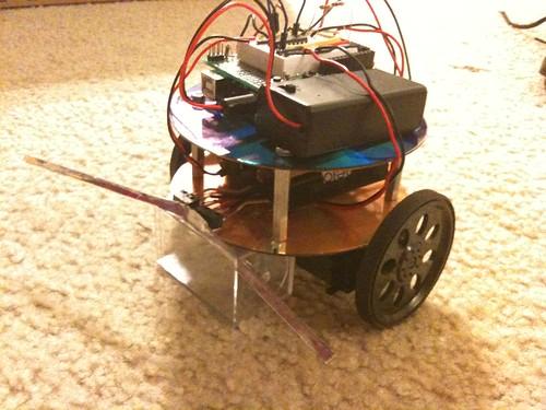 Finished CoasterBot