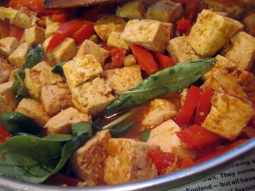 Red Curry Tofu
