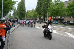 Tête de la course in the Victorieplein!