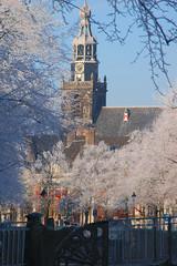 St Jans church, Gouda at Winter