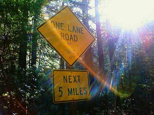 One Lane Road