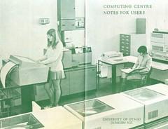 Computer data centre bookcover 1972
