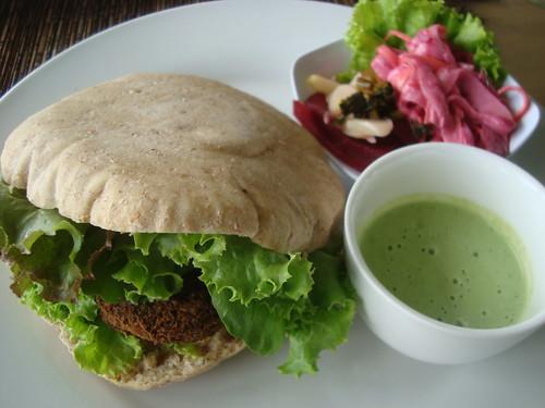 Delicious organic meals at Sari Organik
