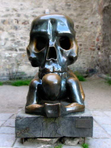 A statue in Prague Castle by you.