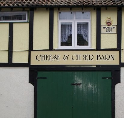 Cheese and Cider Barn at Cheddar by you.