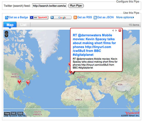 Simple Embeddable Twitter Map Mashup – OUseful Info, the blog…