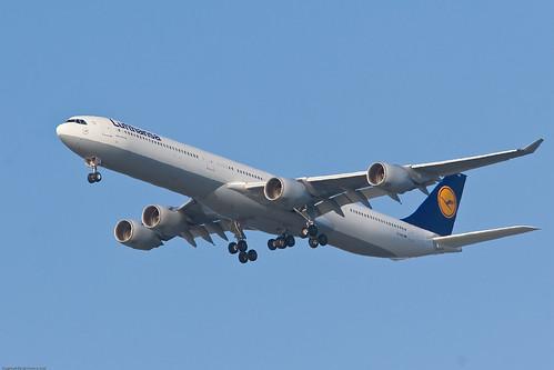 Lufthansa approaching SFO by you.