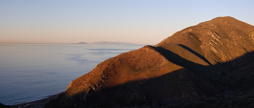 Anacapa and Santa Cruz Islands