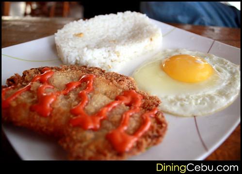 Filipino Restaurant in Cebu - Sugbo Silog: Fish Fillet