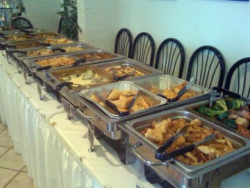 Sunday Brunch Buffet at Anna's - Main Dishes
