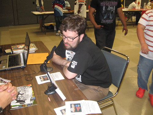 We talked to R.J. of Creeping Hemlock Press...