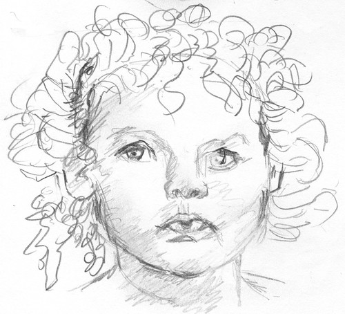 Drawing Unknown Faces, part 169, sketch 3