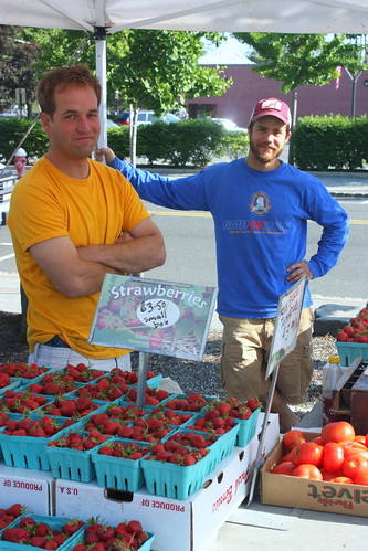 Tenafly Famer's Market Grand Opening, June 7 2009 by you.