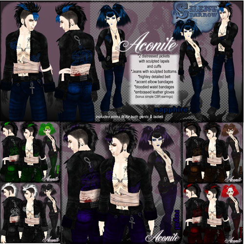~silentsparrow~ Aconite suit