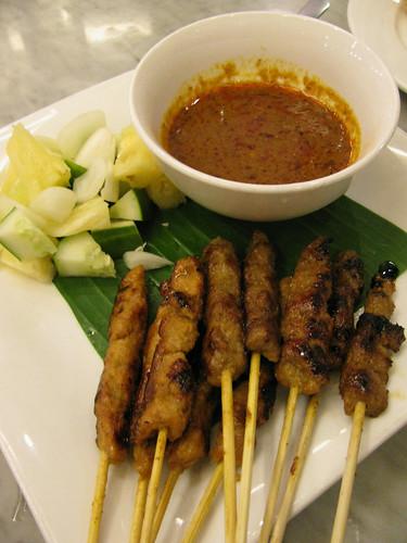 Chicken Satay at Malacca